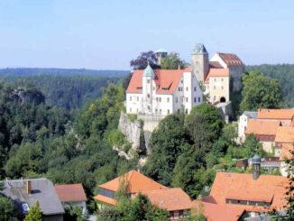 Burg Hohnstein (Sachsen) - Gesamtansicht