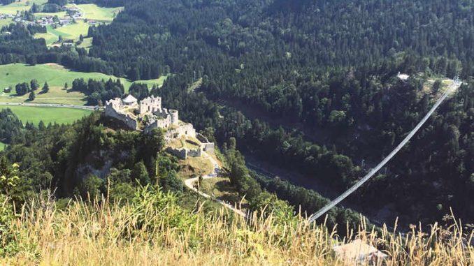 Burg-Reutte_von-Festung-Schlosskopf_1906