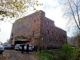 Burg Wilenstein (Rheinland-Pfalz) - Aussenansicht