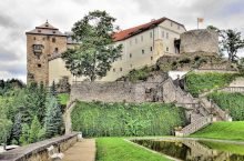 Burg und Schloss Bečov nad Teplou