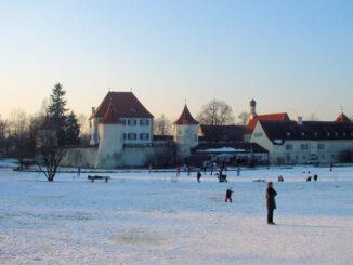 Schloss Blutenburg, Bayern - Panorama