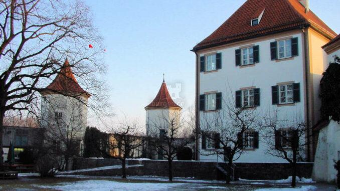 Schloss Blutenburg, Bayern - Innenhof