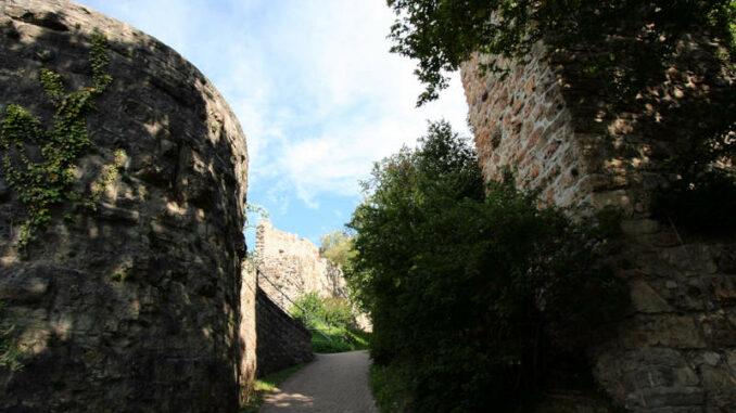 Burg-Baden_1556_Aufgang