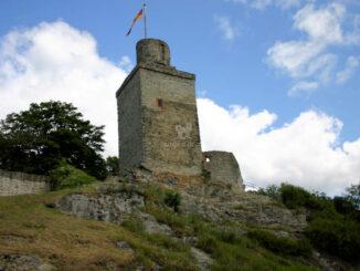 Burg Falkenstein bei Königstein - Bergfried