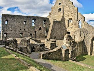 Burg Gleiberg, Hessen - Innenansicht