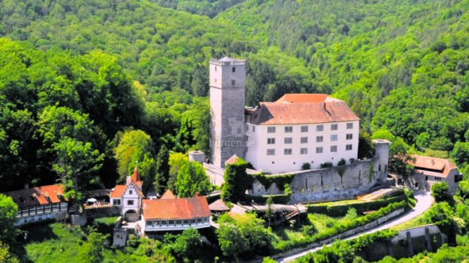 Burg-Guttenberg_Luftaufnahme