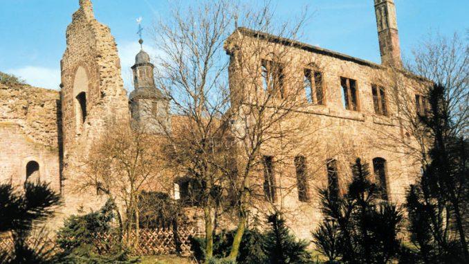 Burg-Hayn_Palas-Suedseite
