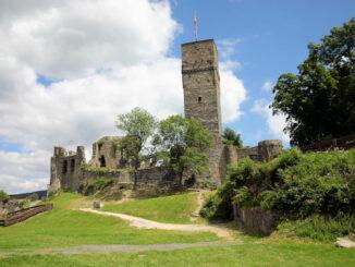 Burg Königstein, Hessen - Panoramaansicht