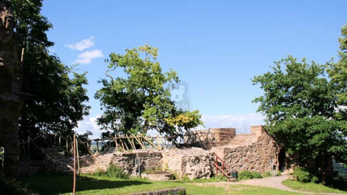 Burg-Weibertreu_3805_Mauerfragment