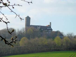 Burg Ludwigstein, Hessen - Totale