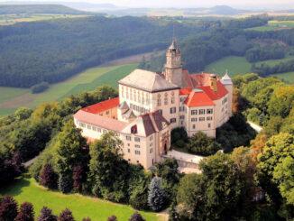 Schloss Baldern - Luftaufnahme