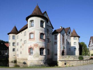 Schloss Glatt, Baden-Württemberg - Eingang