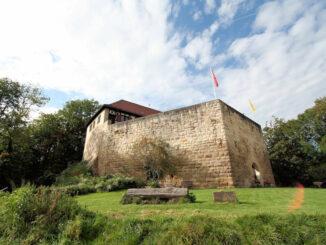 Burg Wäscherschloss, Baden-Württemberg - Seitenansicht