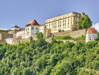 Veste Oberhaus bei Passau - Gesamtansicht