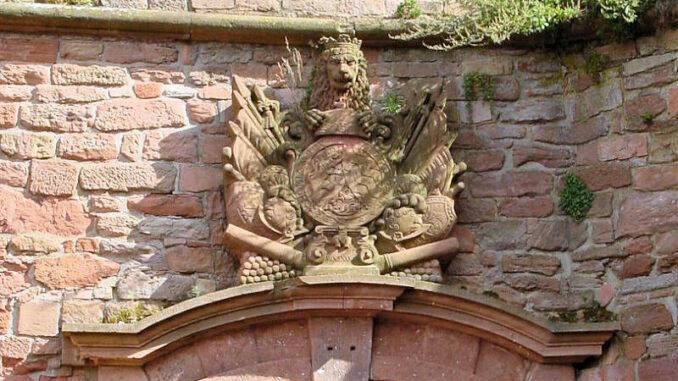 Schloss-Heidelberg_0002_Loewen-Wappen