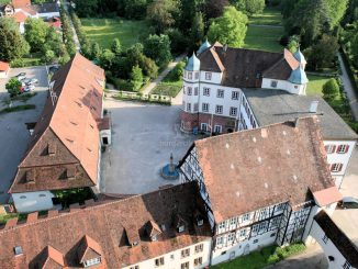 Schloss Donzdorf, Baden-Württemberg - Luftbild (c) Stadt Donzdorf