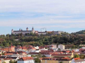 Feste Marienberg, Würzburg - Panoramaansicht
