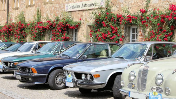Schloss-Langenburg_Automuseum-BMW-Veteranen-Club