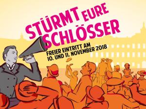Schloss und Schlossgarten Weikersheim: Bürger stürmt eure Schlösser! Event am 10. und 11.11.2018