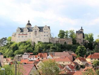 Burg Ranis, Thüringen - Nahaufnahme