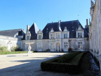 Château de Villesavin, Loiretal - Haupteingang