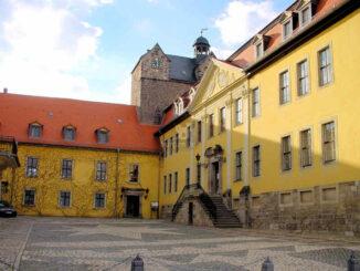 Schloss Ballenstedt (Sachsen-Anhalt) - Haupteingang