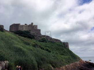 Mont Orgueil Castle, Jersey - Seitenansicht