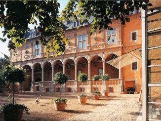 Schloss Rheydt (NRW) - Rückansicht