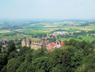 Burg Schwalenberg - Nordrhein-Westfalen, Luftbild