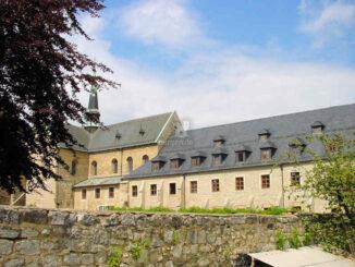 Huysburg (Sachsen-Anhalt) - Seitenblick Stift