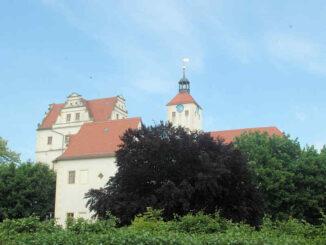 Schloss Pretzsch (Sachsen-Anhalt) - Hauptansicht