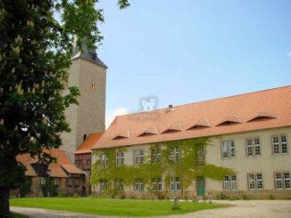 Burg Hessen (Sachsen-Anhalt) - Blick auf den Turm