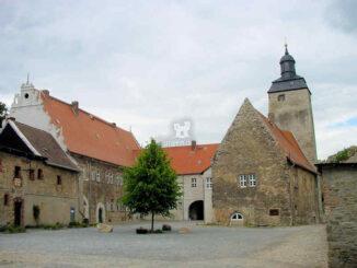 Burg Wanzleben (Sachsen-Anhalt) - Innenhof