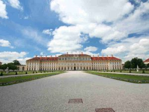Schloss Schleissheim bei München, Blick aus dem Park