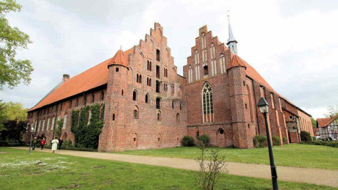 Kloster Wienhausen bei Celle, Niedersachsen - Außenansicht