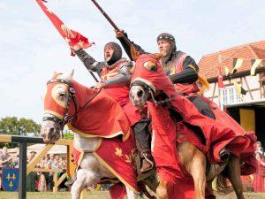 Burg Stargard (Mecklenburg-Vorpommern) - Ritter im Turnier