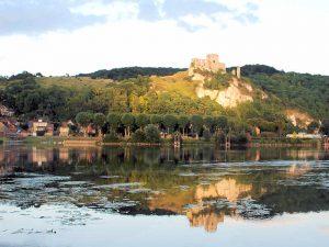 Chateau Gaillard / Richard Löwenherz - Blick über den Fluss