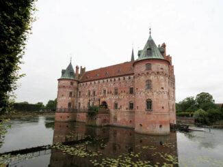 Schloss Egeskov, Dänemark - Hauptansicht