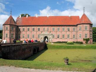 Schloss Voergaard, Dänemark - Haupteingang
