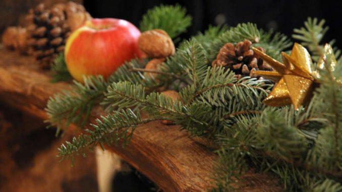 Adventsgesteck - zauberhafte Hofweihnacht 2019 im Landgut Marienhöhe