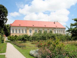 Schloss Dachau - Blick auf die Rückseite