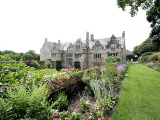 Trerice House and Gardens - Ansicht Eingang