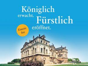 Saisoneröffnung der Staatlichen Schlösser, Burgen und Gärten Sachsen