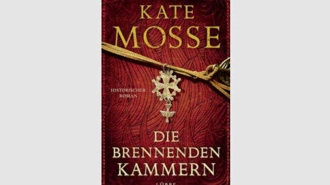 """Buchcover """"Die brennenden Kammern"""" von Kate Mosse © Lübber Verlag"""