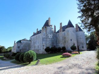 Chateau de Meung-sur-Loire, Nordseite