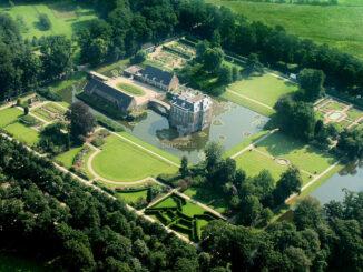Luftbild © Ad van Beurden / Kasteel en Landgoed Middachten