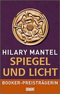 Buchtitel Spiegel und Licht von Hilary Mantel © Dumont Verlag
