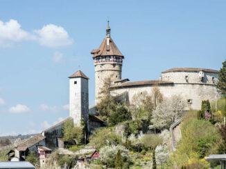 Festung Munot, Schaffhausen (Schweiz) © Schaffhauserland Tourismus/Bruno Sternegg