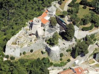 Gradina Trsat, Luftbild © www.visitRijeka.hr