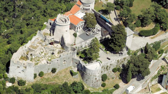 Gradina-Trsat_Luftbild-Draufsicht